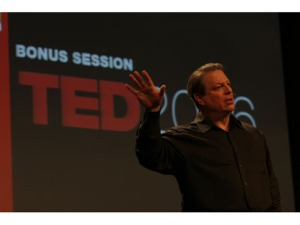 Al Gore presents at TED